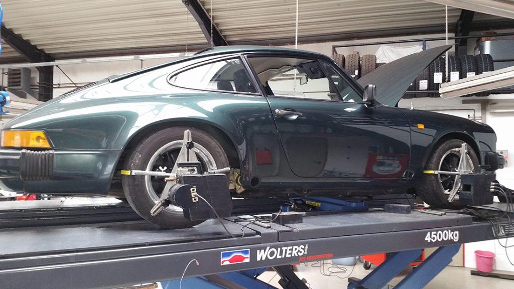 Fahrwerksvermessung Porsche