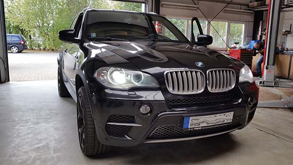 BMW frontal